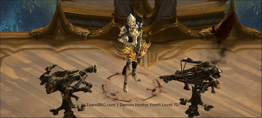 D3 Demon Hunter Fresh Level 70 Guide S15 261 Team BRG