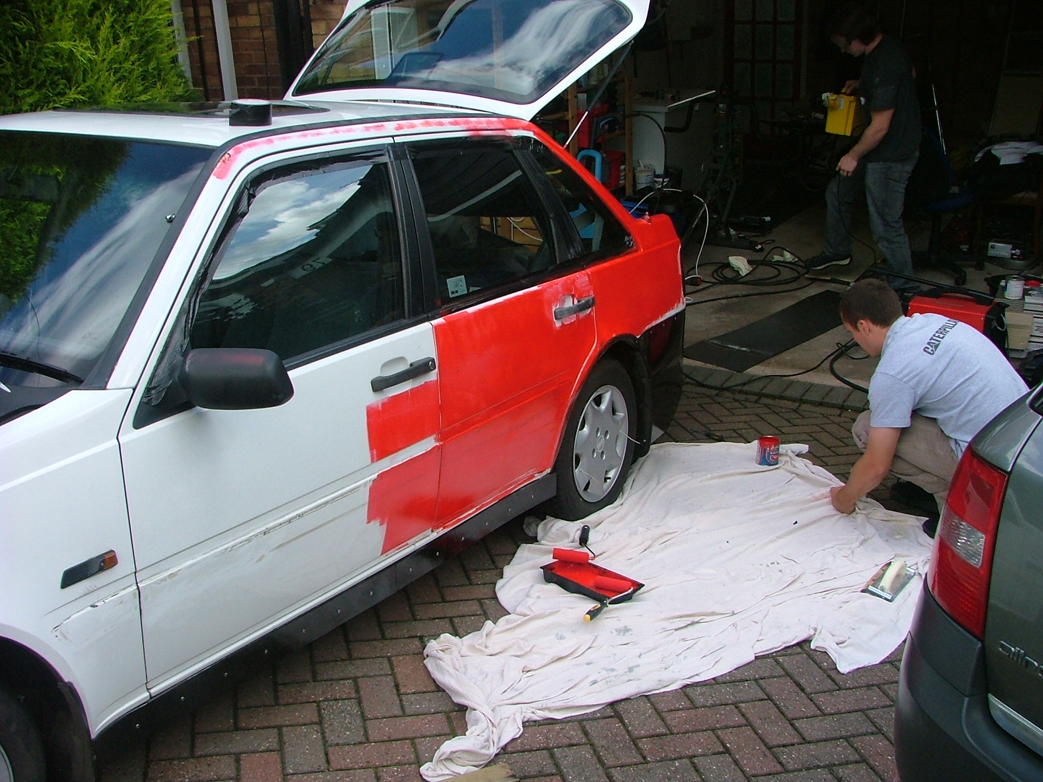 Pintura Hammerite How Much Would It Cost To Re Paint Your Car Acurazine
