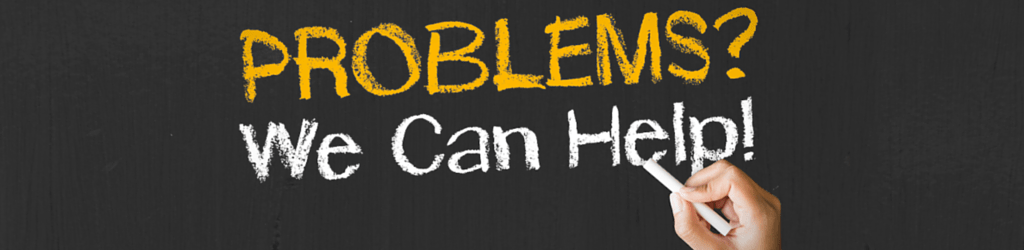 Problems We Can Help