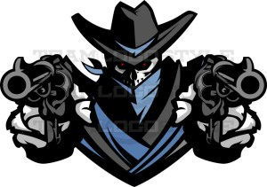 Outlaw Design - Vector Mascot Clipart