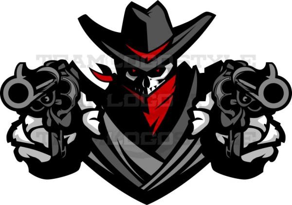 Bandit Design - Vector Mascot Clipart