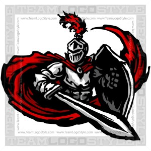 Knight Vector Graphic - Clipart Image