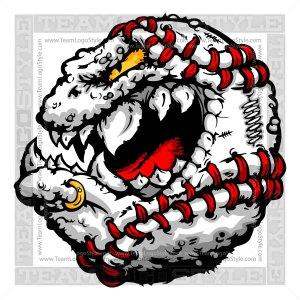 Baseball Creature Logo