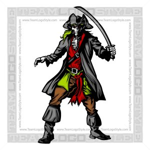 Pirate Skeleton Graphic