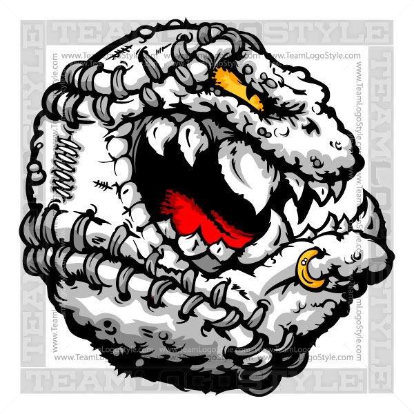 Softball Creature Logo