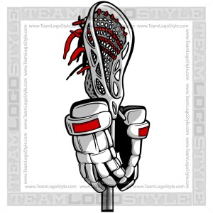 Lacrosse Clipart Graphic Vector Image