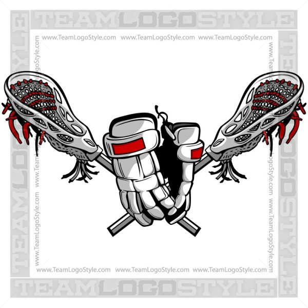 Lacrosse Gloves Logo