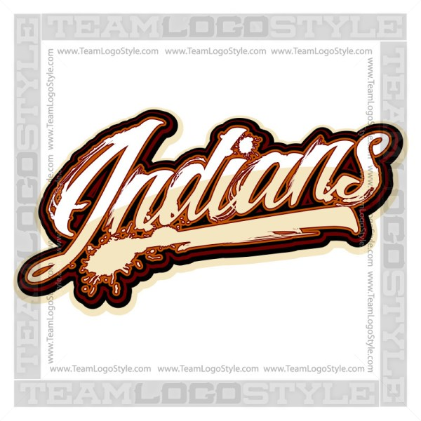 Indians Shirt Logo - Vector Clipart image