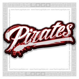 Pirates Shirt Logo - Vector Clipart image