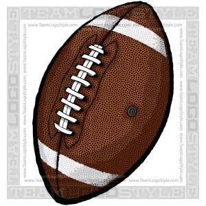 Vector Football - Sports Clipart Image