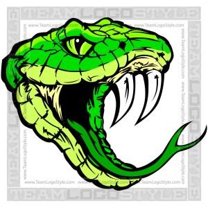 Snake Vector Art- Clipart Image