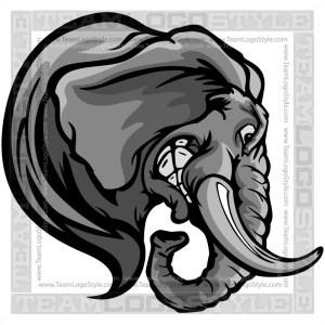 Elephant Clipart Vector Image