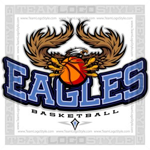 Team Logo Eagles Basketball