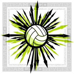 Arrows Volleyball Clipart