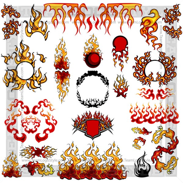 Fire Flame Elements