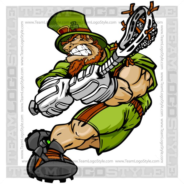 St Patricks Day Lacrosse Clip Art