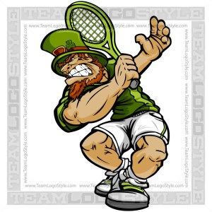 St Patricks Day Tennis Clip Art