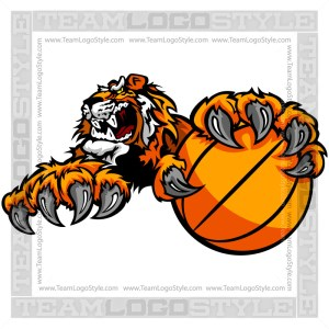 Tiger Basketball Clip Art