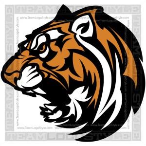 Tiger Logo - Clip Art Image