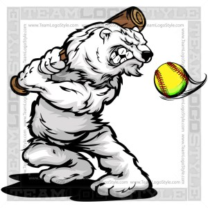 Winter Fastpitch Clip Art