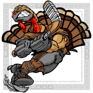 Hockey Thanksgiving Turkey
