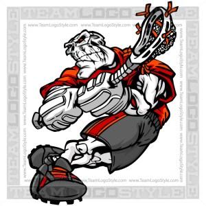 Skeleton with Lacrosse Stick