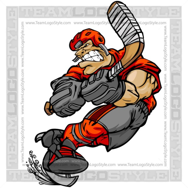 Clip Art Hockey Player