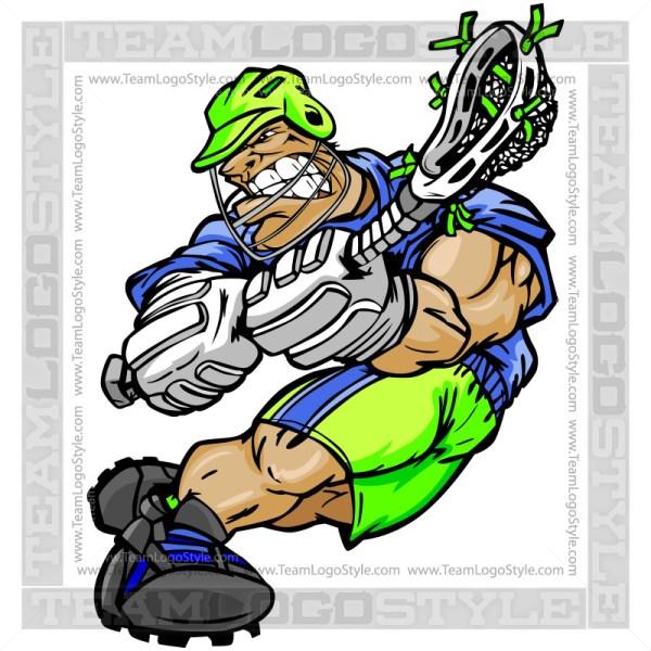 Clip Art Lacrosse Player