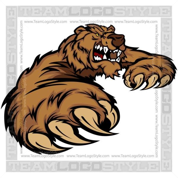 Bear Claw Clip Art