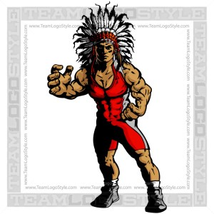 Chief Wrestling Clip Art