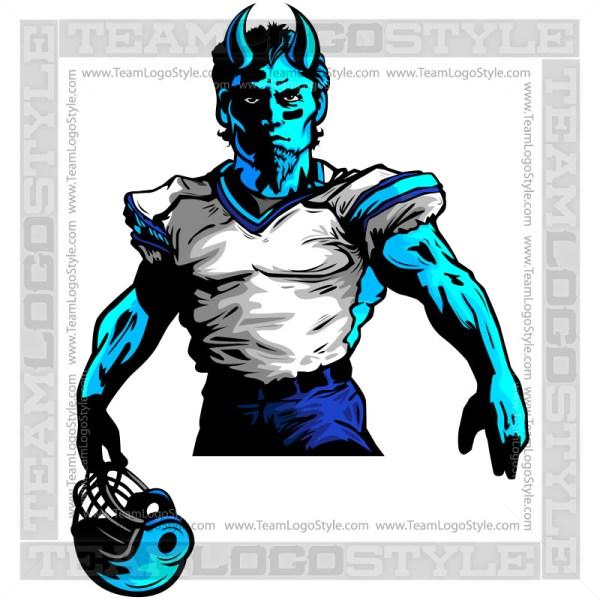 Demon Football Player