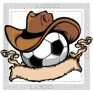Cowboy Soccer Logo