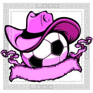 Cowgirl Soccer Logo