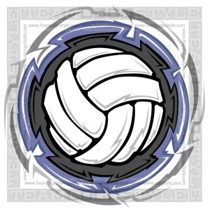 Volleyball Graphic Art