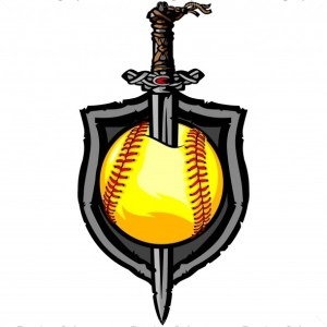Viking Softball Logo