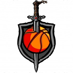 Viking Basketball Logo