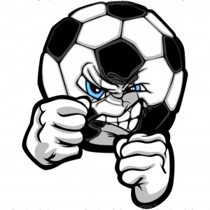 Soccer Fight Clipart