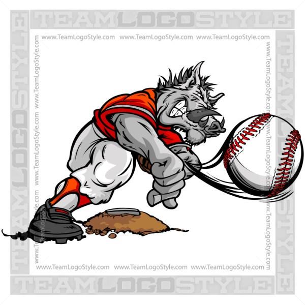 Boar Baseball Pitcher