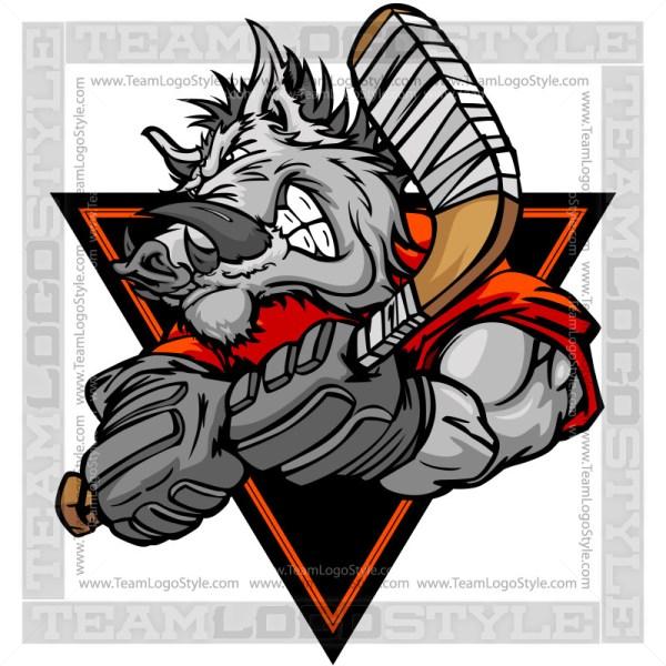 Boar Hockey Player