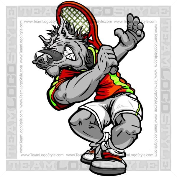 Razorback Tennis Player