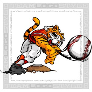 Baseball Pitcher Tiger