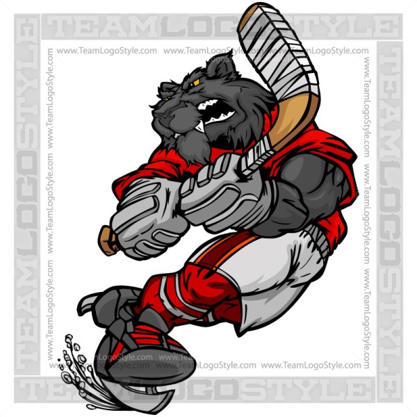 Panther Hockey Player