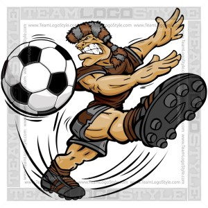 Soccer Pioneer Cartoon