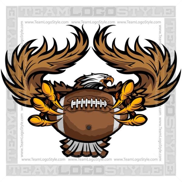 Team Mascot - Eagles Football