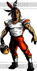 Brave Football Clipart