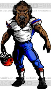 Buffalo Football Art