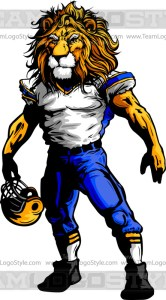 Lion Football Clipart