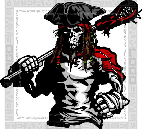 Raider Lacrosse Clipart