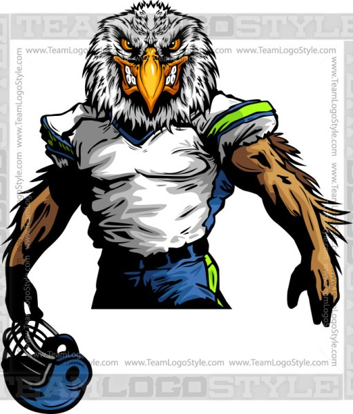 Seahawks Football Clipart
