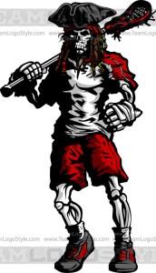 Skull Lacrosse Design